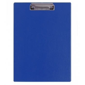 Планшет с прижимом Buromax A4 PVС, синий