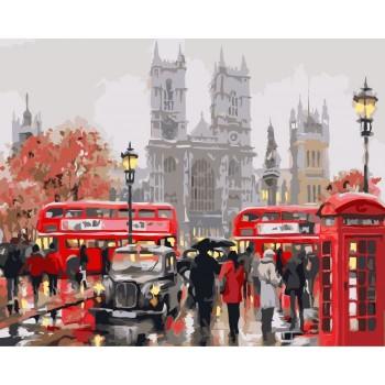 Картина на холсте Идейка Утро в Лондоне 40х50 см КНО2149