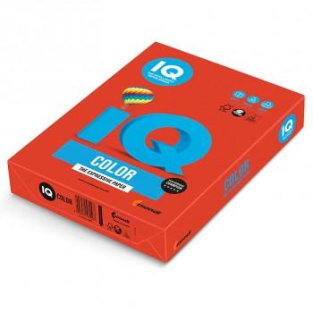 Бумага цветная А4 IQ Color CO44 кораллово-красный