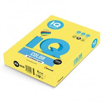 Бумага цветная А4 IQ Color CY39 желтый