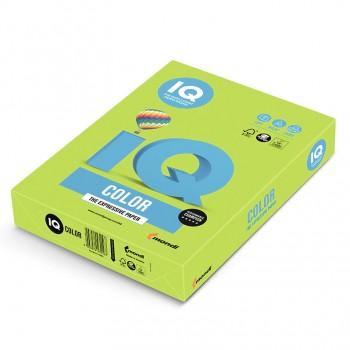 Бумага цветная А4 IQ Color LG46 Зеленая липа