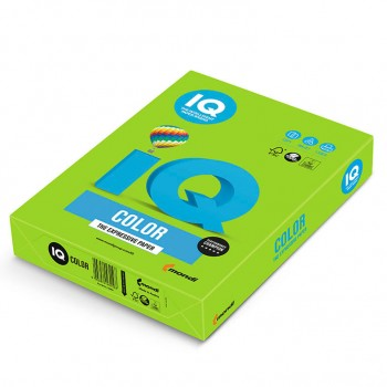 Бумага цветная А4 IQ Color MA42 зеленый