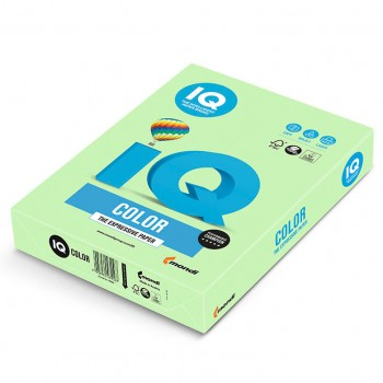 Бумага цветная А4 IQ Color MG28 светло-зелёный