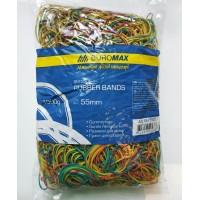 Резинки для денег цветные 1000 г. Jobmax 5505