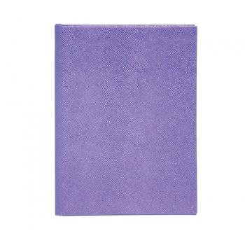 Ежедневник недатированный А5 Buromax Perla, фиолетовый