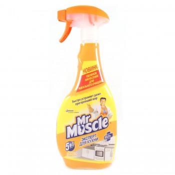 Средство для кухни Мистер Мускул Свежесть лимона 450 мл