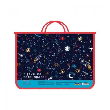 Портфель пластиковый Space A4