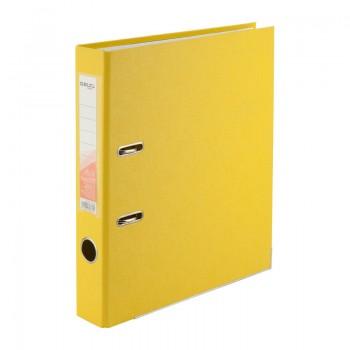 Папка-регистратор Delta 5 см, желтая