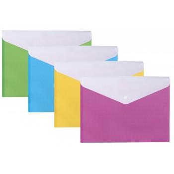 Папка-конверт Вышиванка 2 отделения, асорти