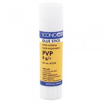 Клей-карандаш Economix PVP 8 г