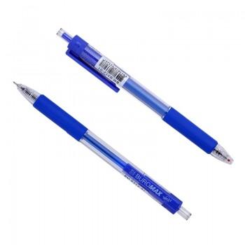 Ручка гелевая автоматическая Buromax Target, 0.5 мм, синяя