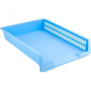 Лоток горизонтальный Axent Pastelini голубой 4040-22-A