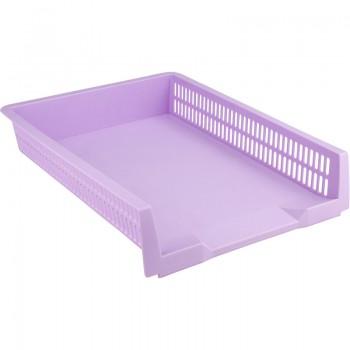 Лоток горизонтальный Axent Pastelini фиолетовый 4040-36-A