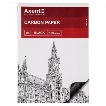 Бумага А4 копировальная черная 100 лист. Axent 3301-01-A