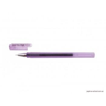 Ручка гелевая Economix Piramid фиолетовая