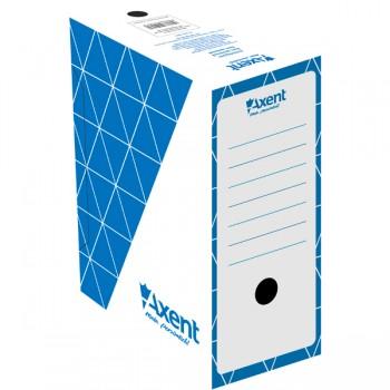 Бокс архивный Axent синий 15 см