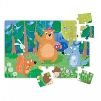 Пазл детский Тедди и его друзья Dodo 35 элементов
