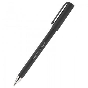 Ручка гелевая Delta DG2042-01, чёрная, 0.7 мм