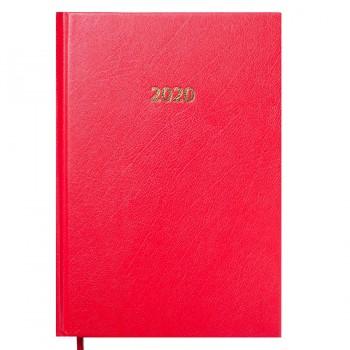 Ежедневник 2020 Buromax Strong А5, красный
